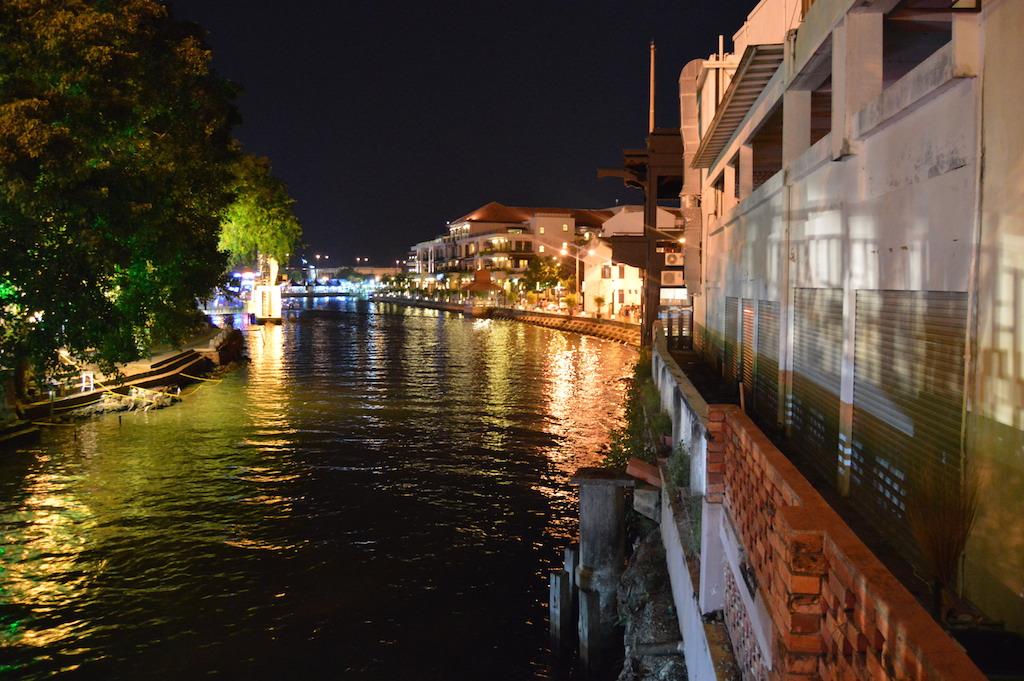 night illuminated lights