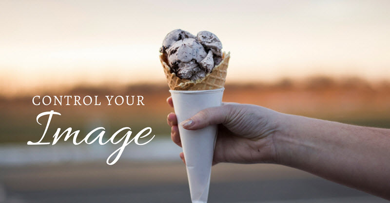 control your image - personal branding