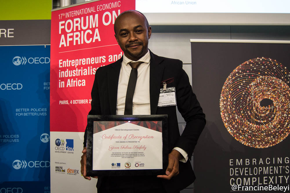 Yvan Fabius Soufaly, *WINNER* OECD Africa Forum Video Contest
