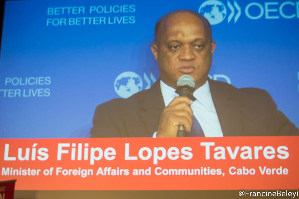 Luís Filipe Lopes Tavares, Minister of Foreign Affairs and Communities and Defence, Cabo Verde