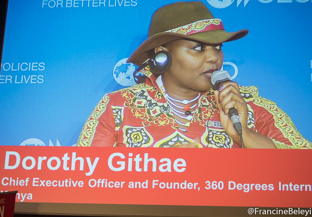 Dorothy Githae, Chief Executive Officer and Founder, 360 Degrees International, Kenya