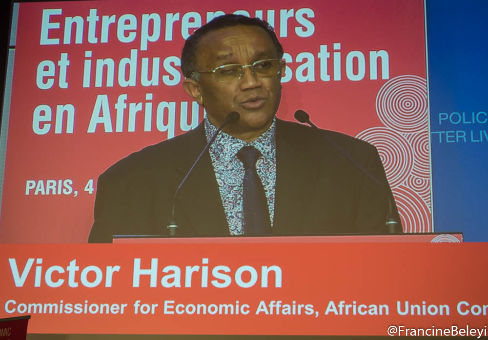 Victor Harison, Commissioner for Economic Affairs, African Union Commission