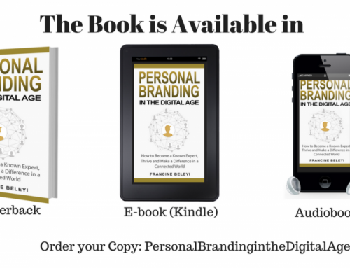 Personal Branding the Digital Age Book release