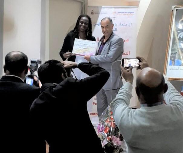 participation chambre de commerce Francine Beleyi