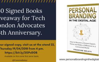 personal branding book signing Francine Beleyi TLA5