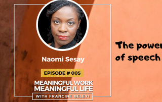 MWML Podcast guests -Naomi sesay
