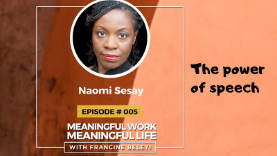 MWML Podcast guests -Naomi sesay