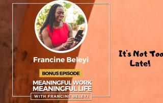MWML Podcast Francine Beleyi Bonus episode
