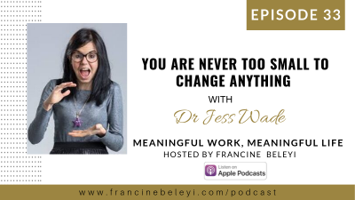 Dr Jess Wade MWML podcast With Francine Beleyi