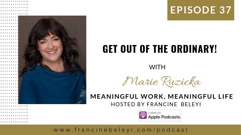 Marie Ruzicka & Francine Beleyi MWML podcast