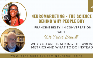 Neuromarketing Dr Peter Steidl - Francine Beleyi - marketing metrics with neuromarketing