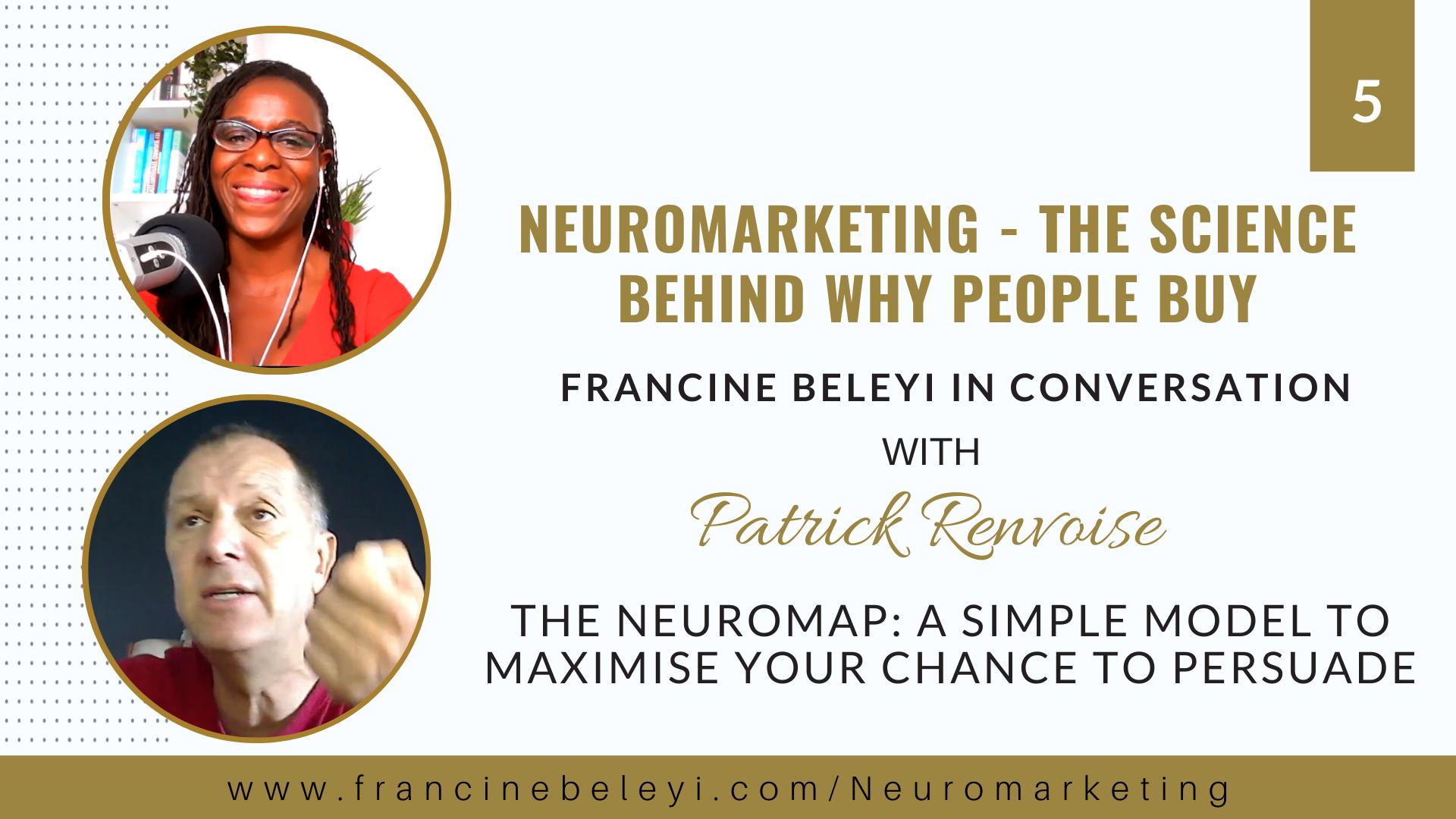 Neuromarketing Patrick Renvoise - Francine Beleyi - persuasion code