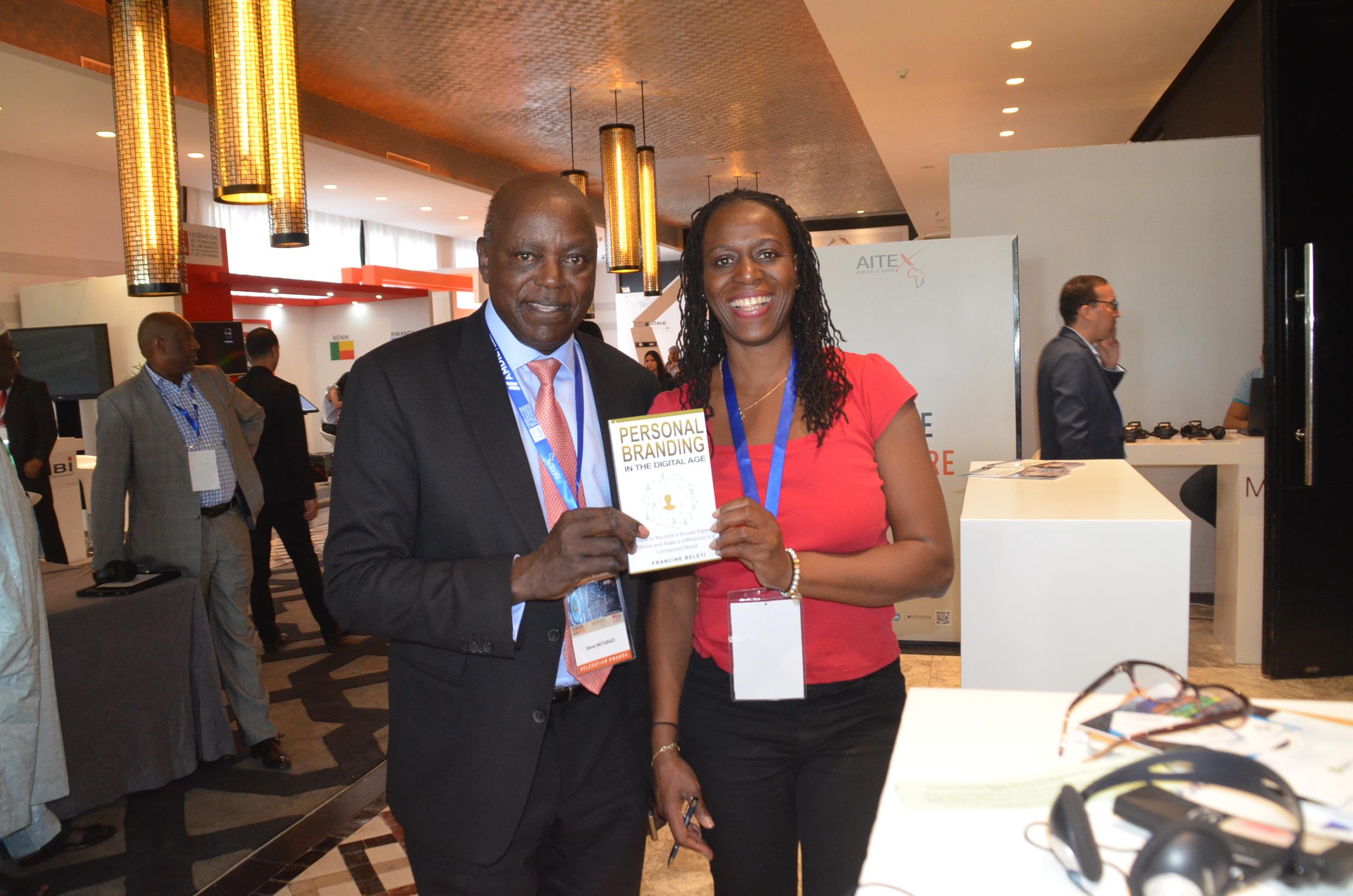 Steve Mutabazi & Francine Beleyi