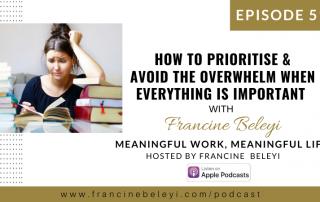 Francine Beleyi MWML podcast - Time management