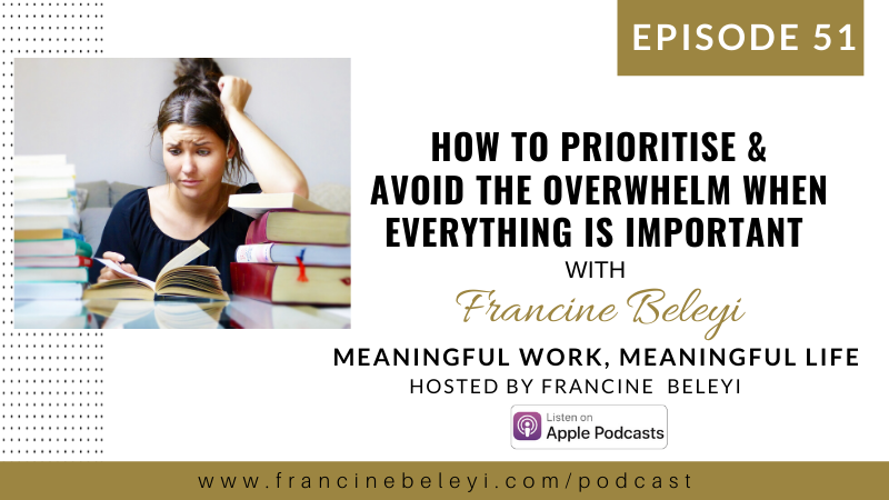 Francine Beleyi MWML podcast - Time management