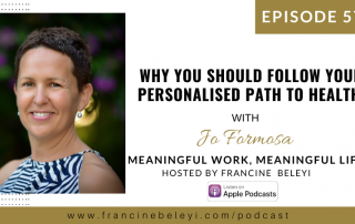MWML Your Personalised Path to Health with Jo Formosa web