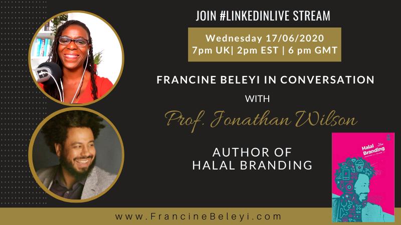 LinkedinLive stream Prof Jonathan Wilson - Francine Beleyi