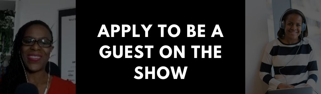 Apply to be a guest on the podcast