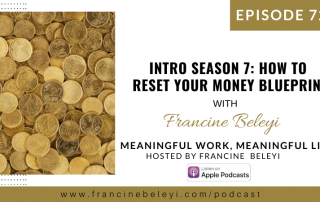 Season 7 MWML podcast Money mindset