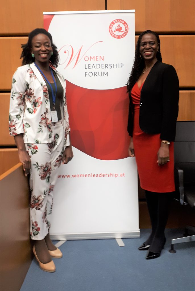 women leadership forum UNIDO - Hawa Kebe - Francine Beleyi