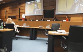 women leadership forum panel Francine Beleyi - Silvia Angelo - Silvia Rathgeb -Cristiane Noll
