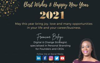 Francine Beleyi Wishes Happy New Year 2021 jpg