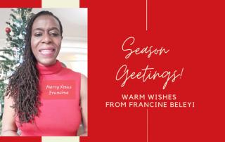 Francine Beleyi Wishes Happy xmas
