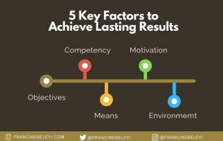 5 key factors to achieve success