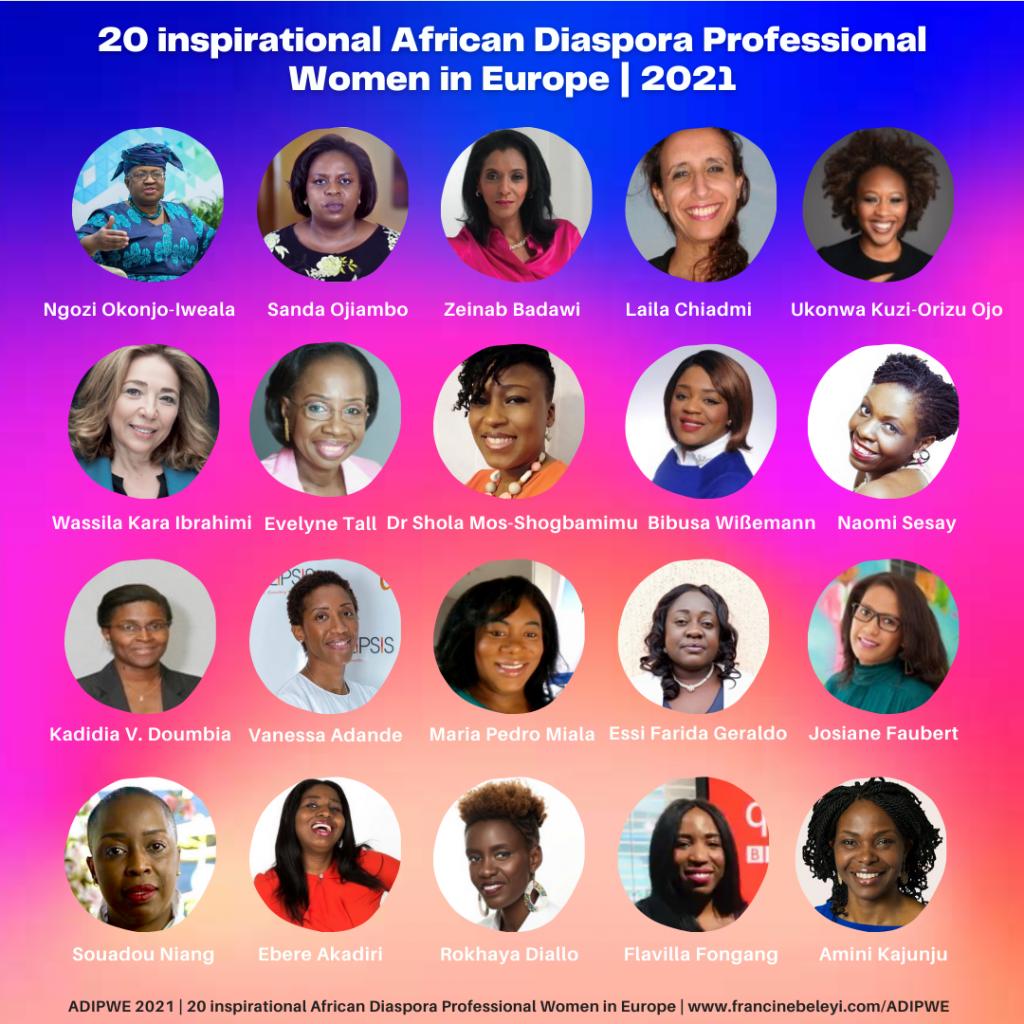 ADIPWE 2021- African Diaspora Professional Women in Europe