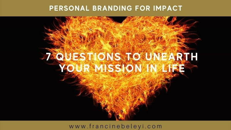 7 questions to find your purpose